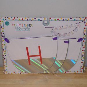 """Party Banner """"Happy Birthday"""" 60"""" Length"""